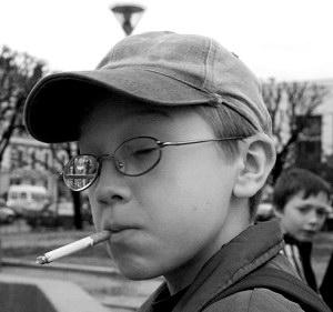 от курения портится зрение